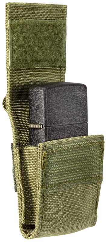 49400 Подарочный набор Zippo Tactical Pouch and Black Crackle Windproof Lighter