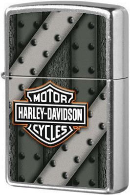 207 HD Зажигалка Zippo Harley Davidson, Street Chrome