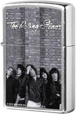 28428 Зажигалка Zippo Rolling Stones, Street Chrome