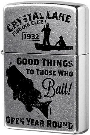 28937 Зажигалка Zippo Vintage Fishing, Street Chrome