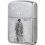 28736 Зажигалка Zippo 1941 Replica Statue of Jack Daniel, Brush Chrome