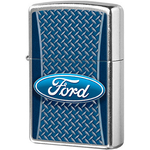 29065 Зажигалка Zippo Ford logo, Street Chrome