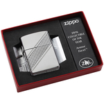 29151 Зажигалка Zippo Lighter 2016 Collectible of The Year, Armor Facet Satin Chrome