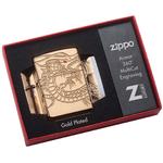 29265 Зажигалка Zippo Armor Multicut Dragon, HP Gold Plate