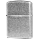 28973 Зажигалка Zippo Armor, Antique Silver Plate