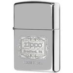 29521 Зажигалка Zippo Bradford, PA, Polish Chrome