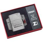 29672 Зажигалка Zippo Armor Bolts Design, Polish Chrome в коллекционной коробке