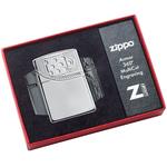 29674 Зажигалка Zippo Armor Zipper Design, Polish Chrome