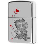 250 Зажигалка Zippo Bird Hearts, Polish Chrome — zippo.su