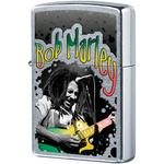 29307 Зажигалка Zippo Bob Marley, Street Chrome — zippo.su