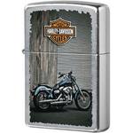 207 Harley Bike Зажигалка Zippo Harley-Davidson, Street Chrome