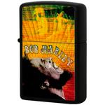 28257 Зажигалка Zippo Bob Marley Sing, Black Matte