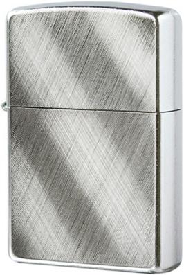 28182 Зажигалка Zippo Diagonal Weave, Street Chrome