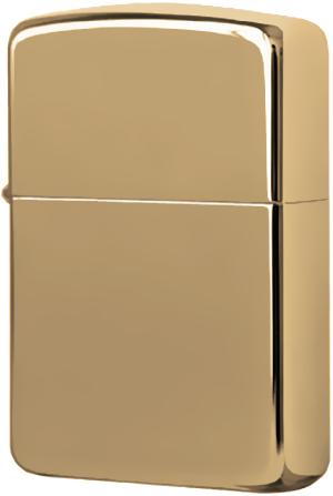 169 Зажигалка Zippo Armor, Polish Brass