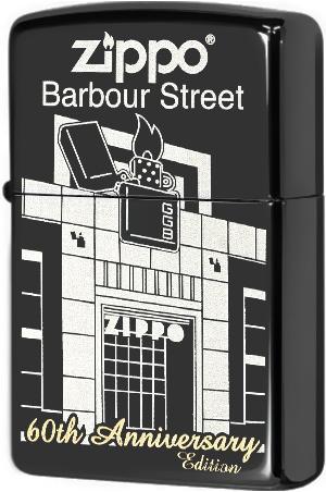 28790 Зажигалка Zippo Barbour Street Building, Ebony