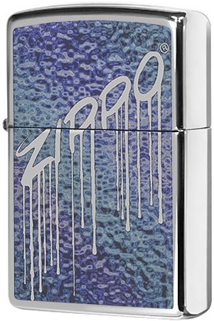 29097 Зажигалка Zippo Fusion Liquid Design, Polish Chrome