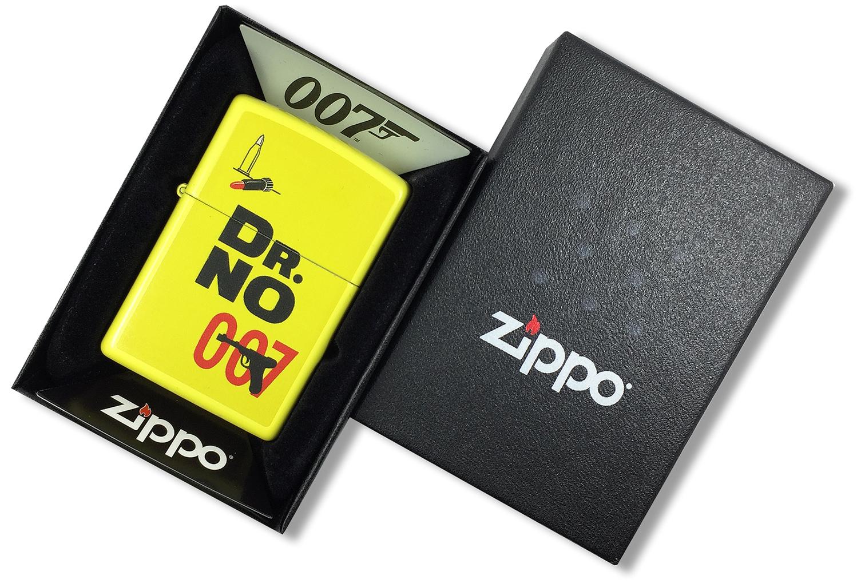 29565 Зажигалка Zippo James Bond 007, Lemon Yellow в открытой коробке