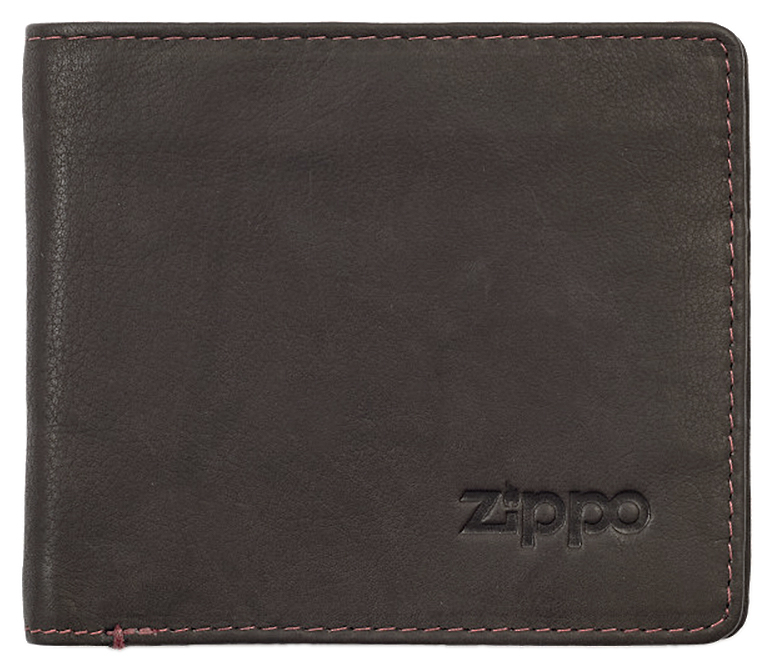 2005116 Портмоне Zippo Mocha Genuine Leather Bi-fold