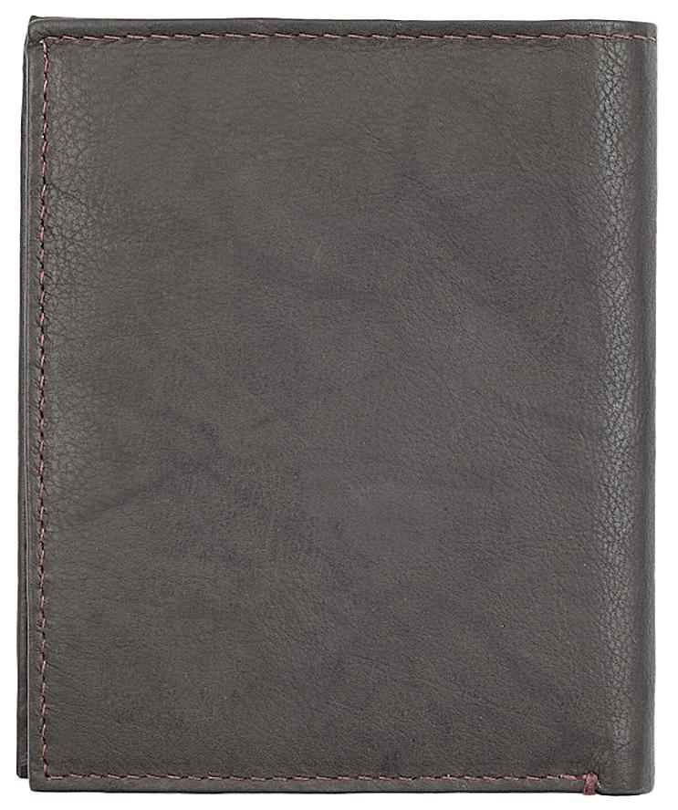 2005121 Портмоне Zippo Vertical Wallet Bi-fold Leather Mocha - обратная сторона