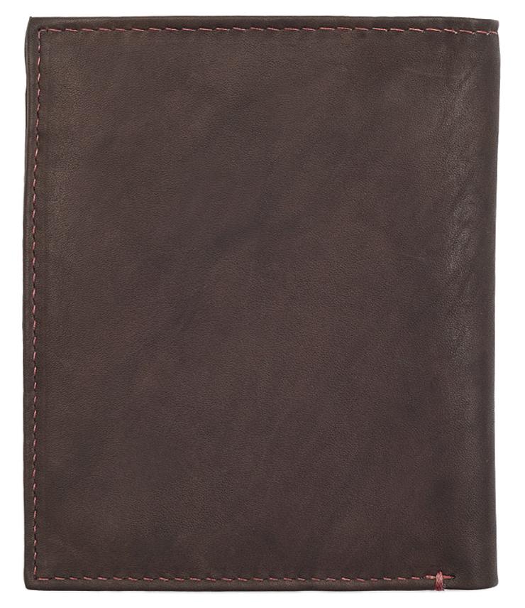 2005122 Портмоне Zippo Vertical Wallet Bi-fold Leather - обратная сторона