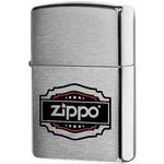 29205 Зажигалка Zippo Vintage, Brushed Chrome