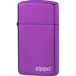 28124ZL Зажигалка Zippo Logo, Slim Abyss