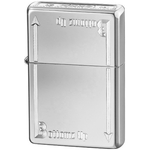 24383 Зажигалка Zippo Bottomz up Logo LTR, Polish Chrome