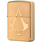 29519 Зажигалка Zippo Deep Carved Assassin's Creed, Polish Brass