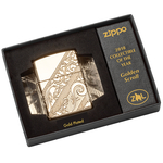 29653 Зажигалка Zippo 2018 Collectible of Year, Golden Scroll, Gold-Plated Armor
