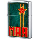 207 Зажигалка Zippo Victory Day 9 May, Street Chrome