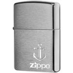 29531 Зажигалка Zippo Anchor, Brushed Chrome