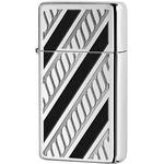 28810 Зажигалка Zippo Armor Slim Rope Design, Polish Chrome