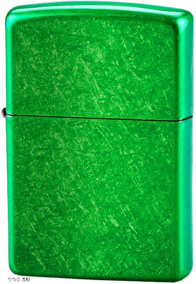 24840 Зажигалка Zippo Green, Meadow