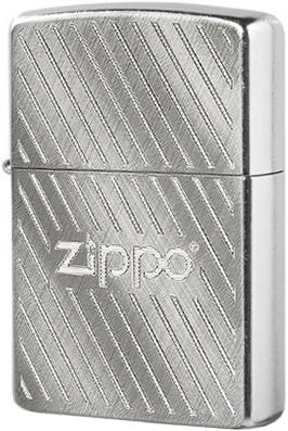 28398 Зажигалка Zippo Pattern, Street Chrome