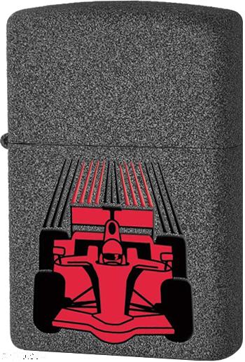 29223 Зажигалка Zippo Race Car, Iron Stone