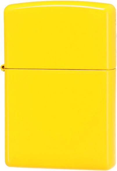 24839 Зажигалка Zippo Neon Yellow