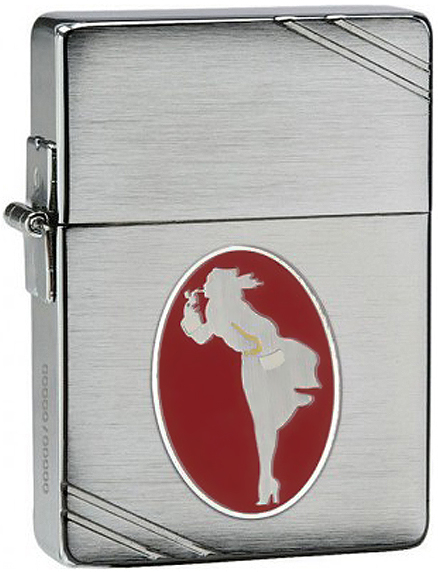 28729 Зажигалка Zippo Windy Collectible of the Year Limited Edition, Brushed Chrome