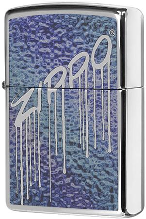 29097 Зажигалка Zippo Fusion Liquid Design, Polish Chrome