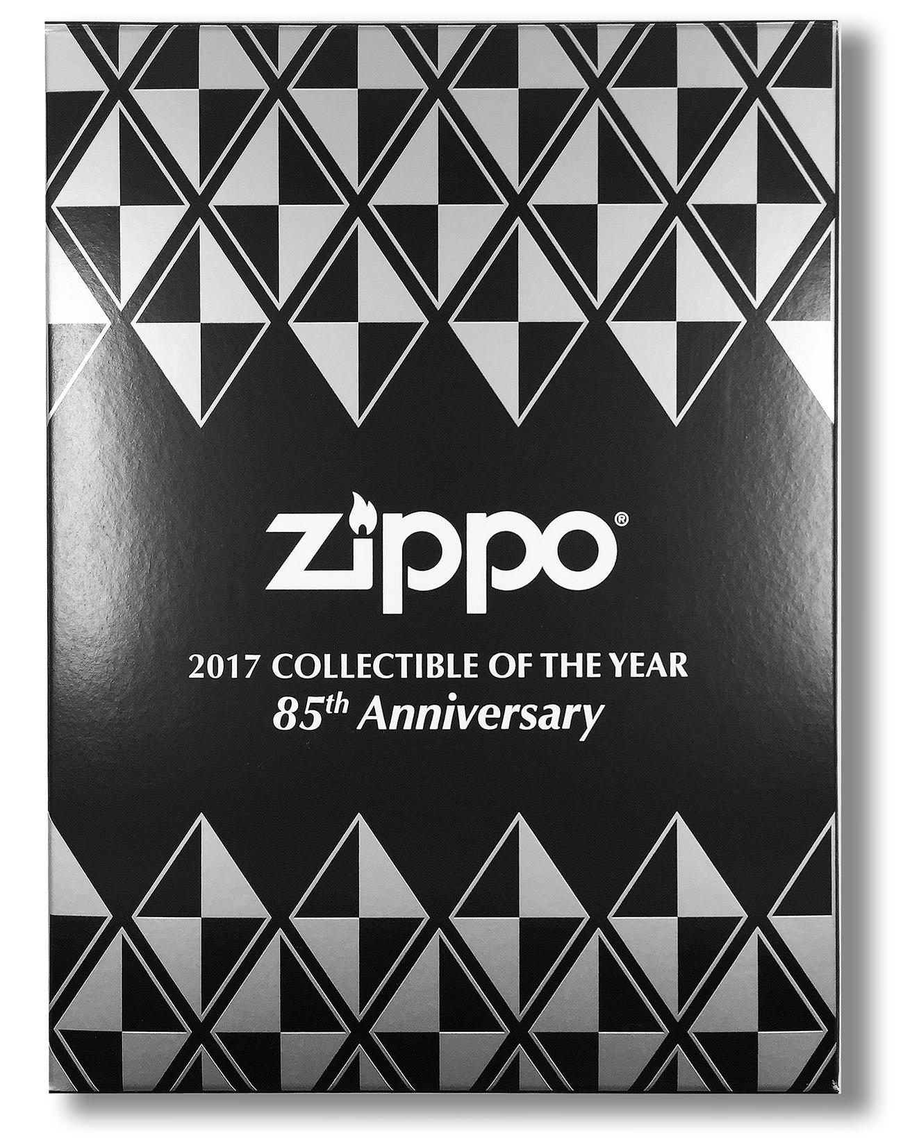 29442 Зажигалка Zippo 85th Anniversary Collectible, Armor Polish Chrome в индивидуальной коллекционной упаковке