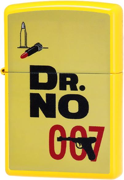 29565 Зажигалка Zippo James Bond 007, Lemon Yellow
