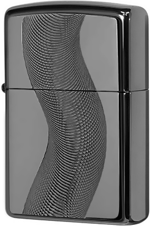 667 Зажигалка Zippo Texas Twister Emblem, Black Ice