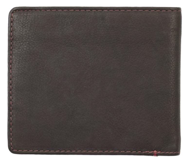2005116 Портмоне Zippo Mocha Genuine Leather Bi-fold - обратная сторона