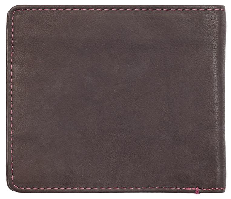 2005119 Портмоне Zippo Brown Genuine Leather Bi-fold - обратная сторона