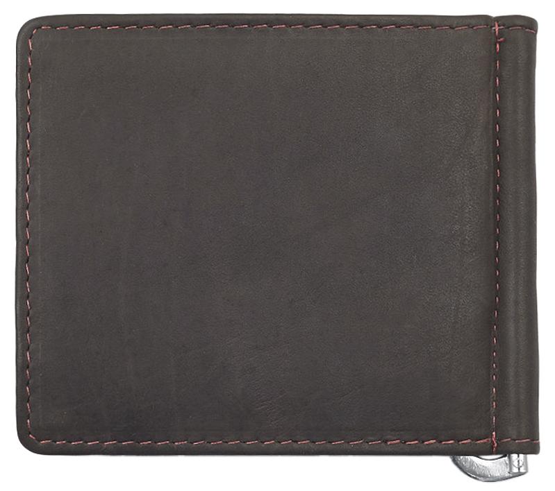 2005125 Зажим для денег Zippo Money Clip Wallet, Mocha Leather Bi-Fold