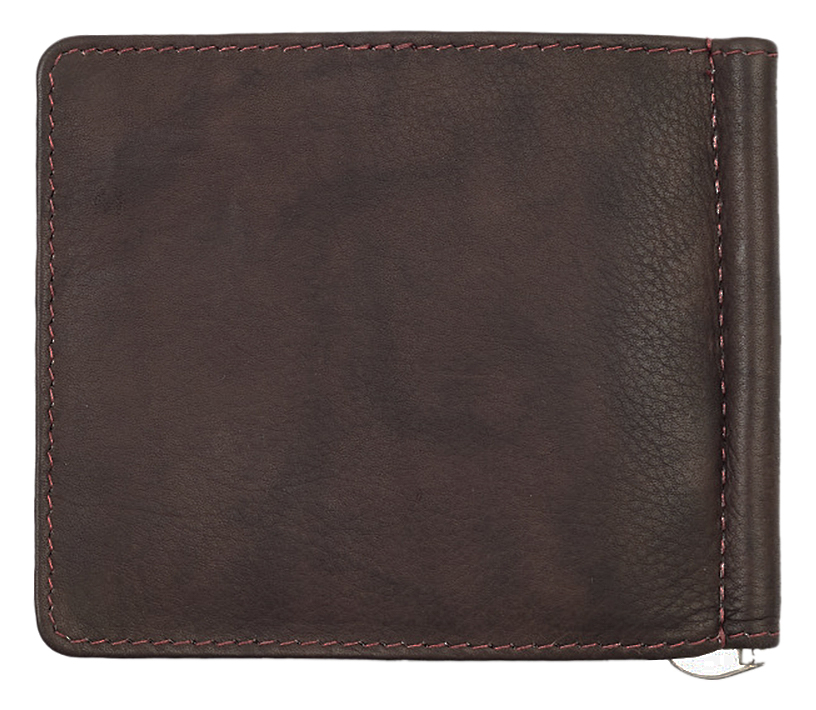 2005126 Зажим для денег Zippo Money Clip Wallet, Leather Bi-Fold - обратная сторона