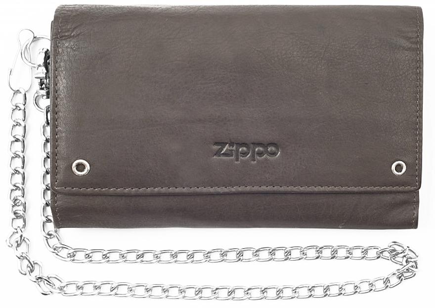 2005129 Бумажник байкера Zippo Bikers Wallet, Leather Mocha