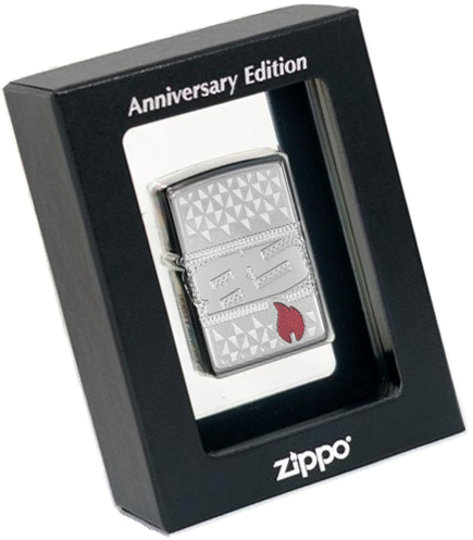 29442 Зажигалка Zippo 85th Anniversary Collectible, Armor Polish Chrome