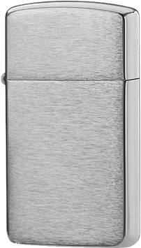 1600 Зажигалка Zippo Slim, Brushed Chrome